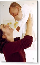 Mother And Baby Acrylic Print by Ian Boddy