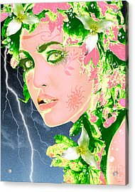 Mother Nature Acrylic Print by Methune Hively
