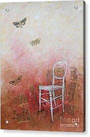Moths Acrylic Print by Paul OBrien