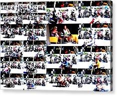Motorbike Watching On Ubud Streets   Acrylic Print by Funkpix Photo Hunter