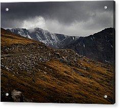 Mount Evans Acrylic Print by Jim Painter