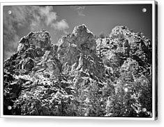 Mountain Peaks Acrylic Print by Lisa  Spencer