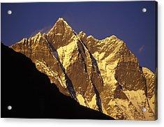 Mountain Peaks Acrylic Print by Sean White