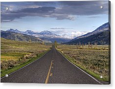 Mountain Road Acrylic Print by DBushue Photography