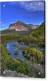 Mountana Wilderness Acrylic Print by Don Wolf