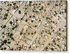 Moussoro Is A Large Town Northeast Acrylic Print by Michael Fay
