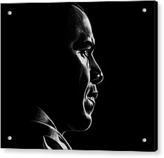 Mr. President Acrylic Print by Jeff Stroman