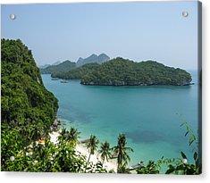 Mu Ko Ang Thong Marine National Park Acrylic Print by Nawarat Namphon