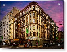 Mulberry And Broome Acrylic Print by Chris Lord