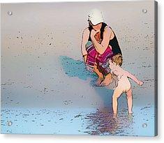 Mummy I Can Swim Acrylic Print by Star Ship