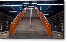 Munich Subway No.4 Acrylic Print by Wyn Blight-Clark