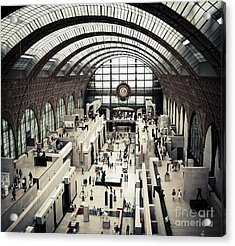Musee D'orsay II Acrylic Print by RicharD Murphy