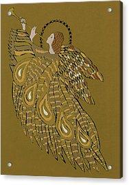 Musical Angel Acrylic Print by Gillian Lawson