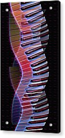 Musical Dna Acrylic Print by Bill Cannon