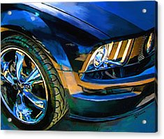 Mustang Acrylic Print by Robert Smith