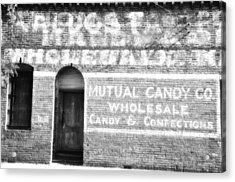 Mutual Candy Company Acrylic Print by Jan Amiss Photography