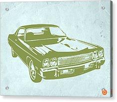 My Favorite Car 5 Acrylic Print by Naxart Studio