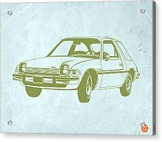 My Favorite Car  Acrylic Print by Naxart Studio