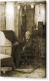 My Great-great-grandfather 1885 Acrylic Print by Jan W Faul