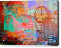 My Life As Time Goes By Acrylic Print by Fania Simon
