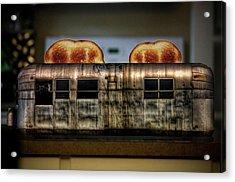 My Old Toaster Acrylic Print by Jan Maklak