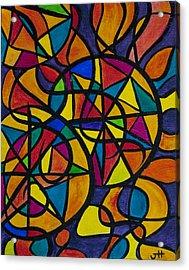 My Three Suns Acrylic Print by Jaime Haney