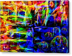 My Universe Acrylic Print by Angelina Vick