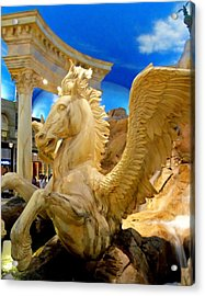 My Vegas Caesars 13 Acrylic Print by Randall Weidner
