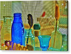 My View Exactly Acrylic Print by Sharon Farris