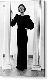 Myrna Loy, Ca. 1935 Acrylic Print by Everett