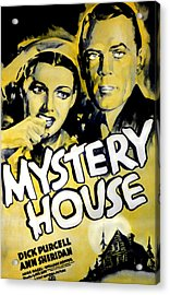 Mystery House, From Left Ann Sheridan Acrylic Print by Everett