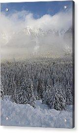 Mystic Peaks Acrylic Print by Sylvia Hart