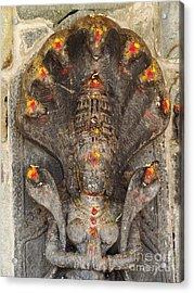 Naga Goddess Acrylic Print by Jarrod Brown