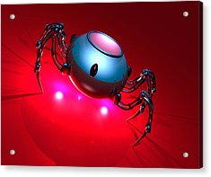 Nanorobot, Conceptual Artwork Acrylic Print by Victor Habbick Visions