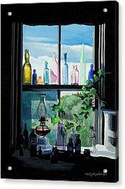 Naomi's Window Acrylic Print by Richard Mordecki