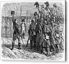 Napoleons Return, 1815 Acrylic Print by Granger