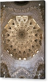 Nasrid Palace Ceiling Acrylic Print by Jane Rix