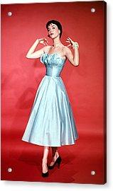 Natalie Wood, 1956 Acrylic Print by Everett