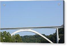 Natchez Trace Bridge Acrylic Print by James Collier