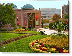 National Museum Of African Art Acrylic Print by Steven Ainsworth