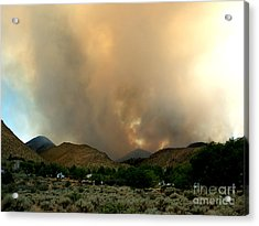 Natures Fury  Acrylic Print by The Kepharts