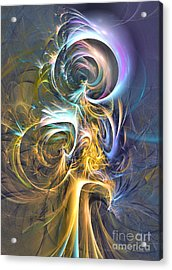 Natures Magic Trick Acrylic Print by Sipo Liimatainen