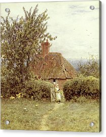 Near Haslemere Acrylic Print by Helen Allingham