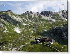Nebelhorn Near Oberstdorf, Allgäu Alps, Bavaria Acrylic Print by Hans-Peter Merten