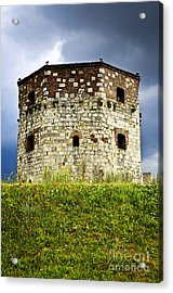 Nebojsa Tower In Belgrade Acrylic Print by Elena Elisseeva