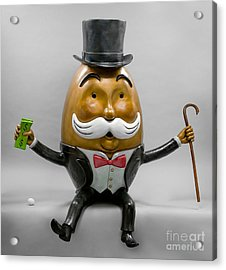 Nest Egg Acrylic Print by Kimber Fiebiger