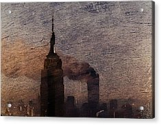 Never Forget Acrylic Print by Andrea Barbieri