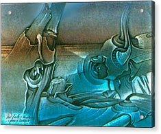 New Earth1 1992 Acrylic Print by Glenn Bautista