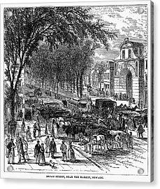 New Jersey: Newark, 1876 Acrylic Print by Granger