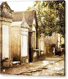 New Orleans Lafayette Cemetery No.1 Acrylic Print by Kim Fearheiley